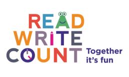 Read, Write, Count Icon